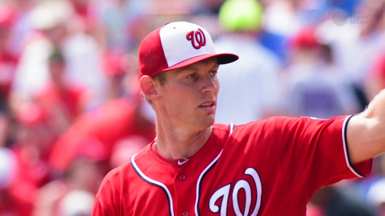 Stephen Strasburg agrees to new deal with Nationals