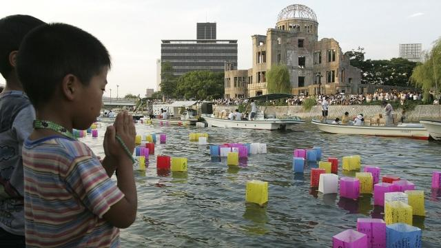 Obama will become the first sitting U.S. president to visit Hiroshima