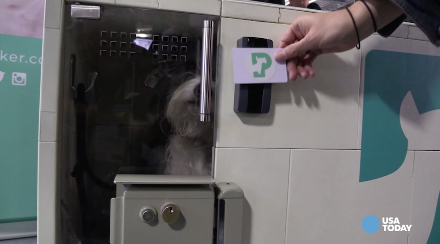 Can't bring your dog inside a store?  No problem. Or so says Dog Parker, whose startup aims to provide a pay by the minute solution for, well, parking your dog.