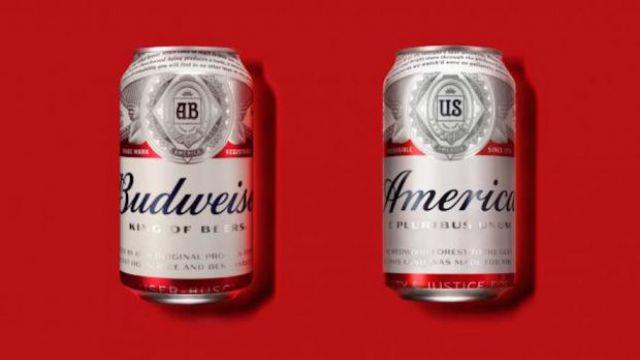 Budweiser is changing its name to 'America' to inspire Americans