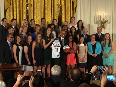 Obama honors UConn women's team (again)
