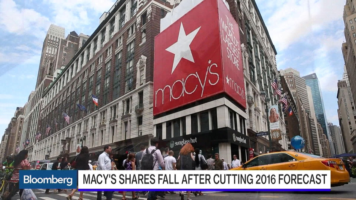 Michael Gould, former chairman and chief executive officer at Bloomingdale's, examines first-quarter results from Macy's and the challenges face by retailers.