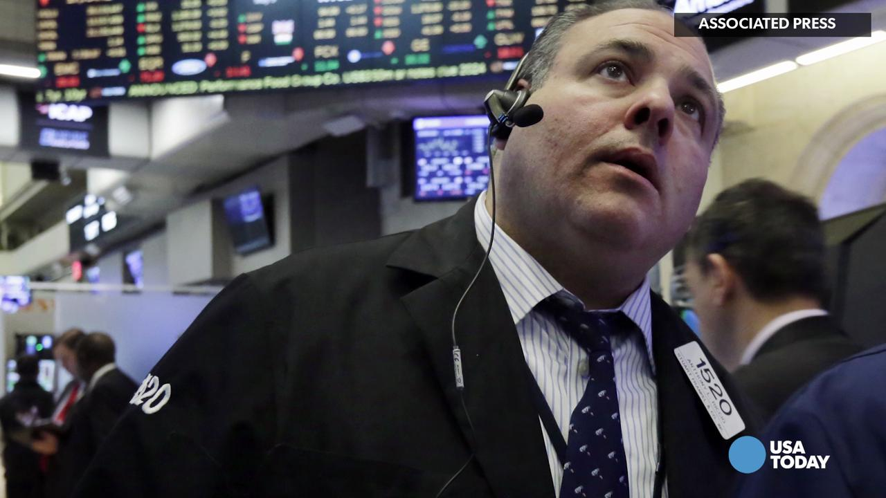 Don't let Tuesday's 220 point Dow rise fool you. Stocks are still being held back by a bunch of headwinds. Adam Shell for USA TODAY.