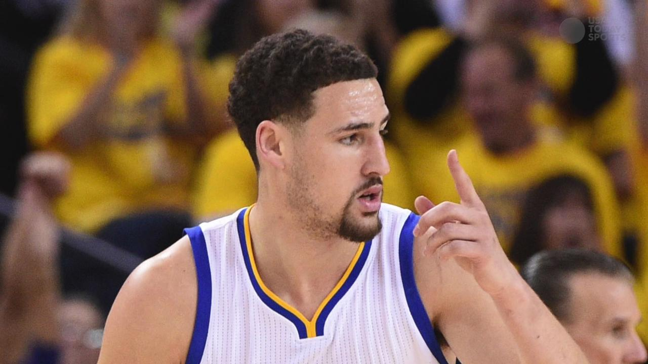 Steph Curry, Klay Thompson clinch series for Warriors