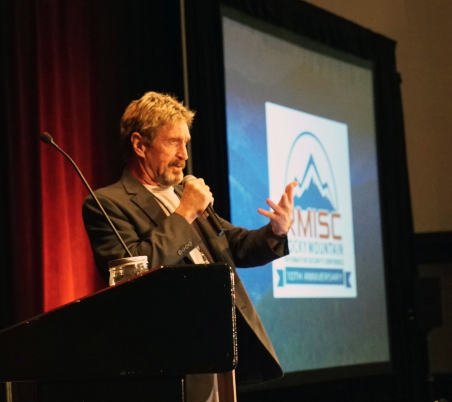 John McAfee: Security danger from phones