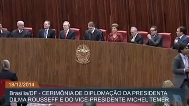 Brazil's President Rousseff Fights Impeachment