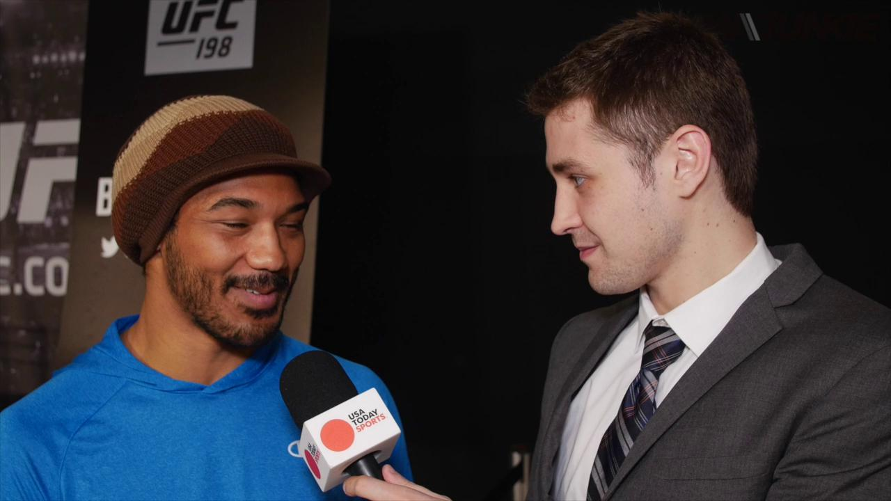 Benson Henderson talks corner duties at UFC 198, as well as future plans in Bellator