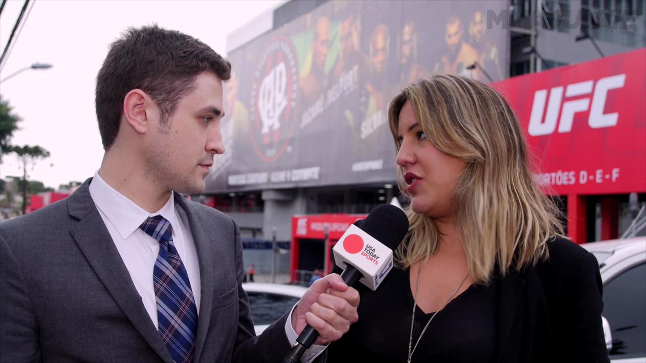 Mike Bohn, Fernanda Prates preview UFC 198