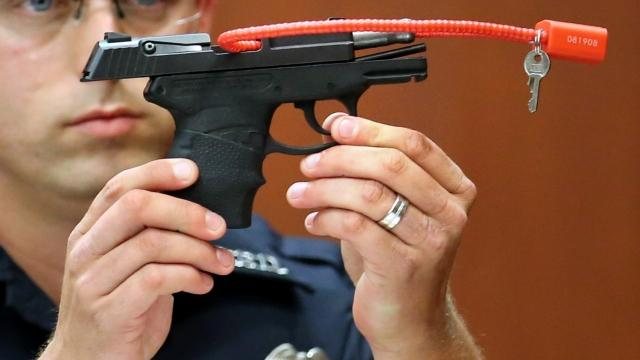 Zimmerman to auction gun used to shoot Trayvon Martin
