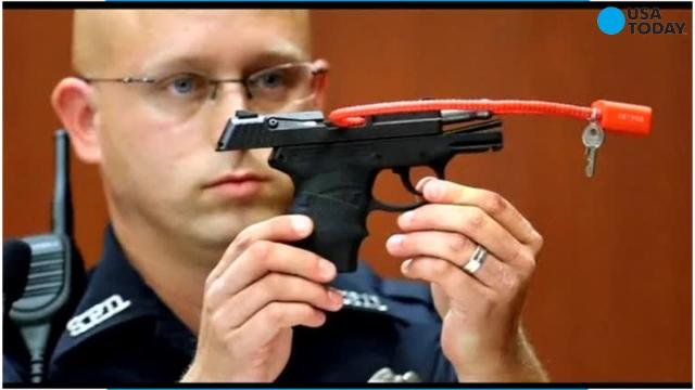 Auction back up for George Zimmerman's gun