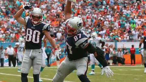 """The Patriots tight end sat down with USA TODAY Sports to discuss what it feels like to grace the cover of """"Madden NFL 17."""""""