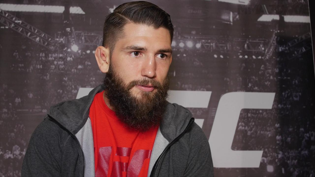 Bryan Barberena ready for big fight but not intimidated by opportunity