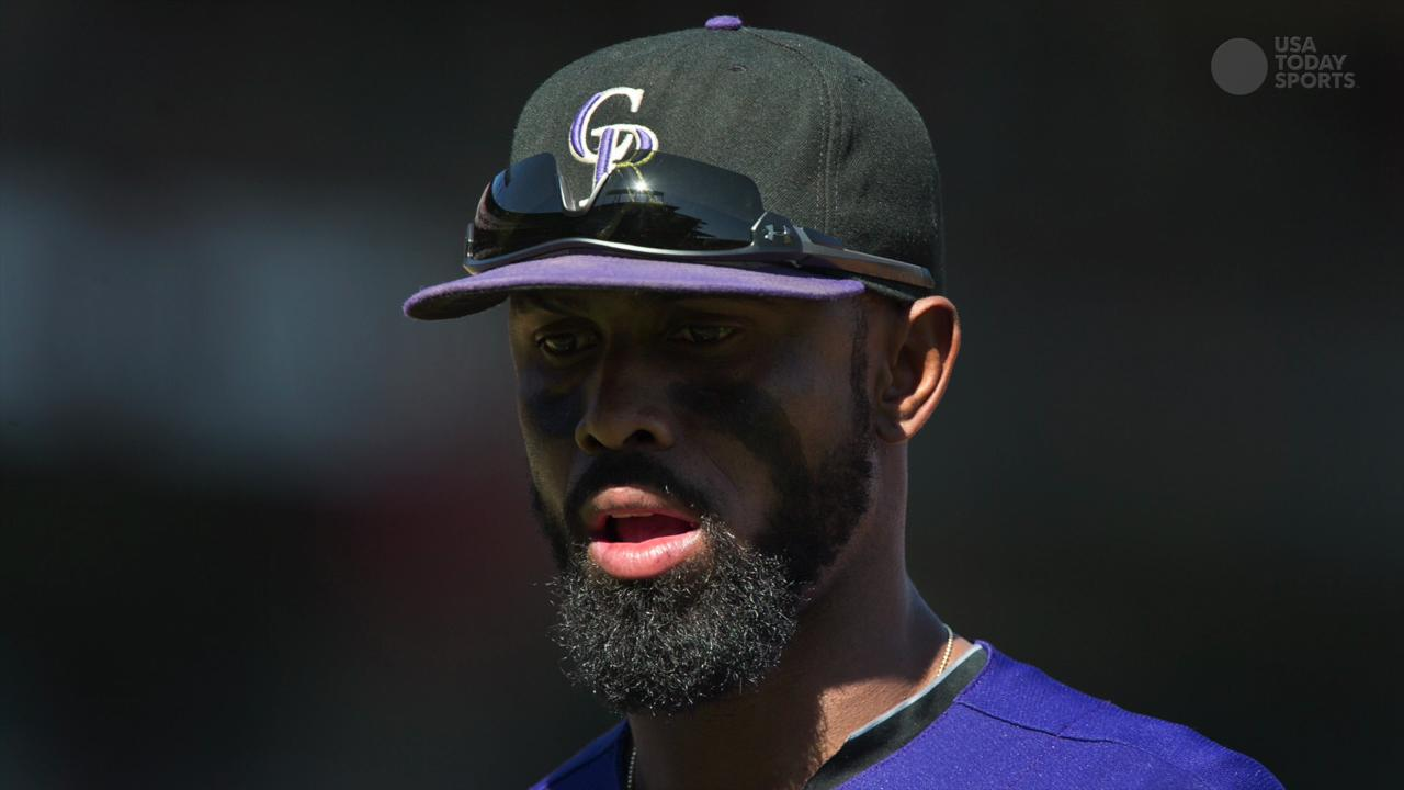 Rockies' Jose Reyes suspended for domestic violence