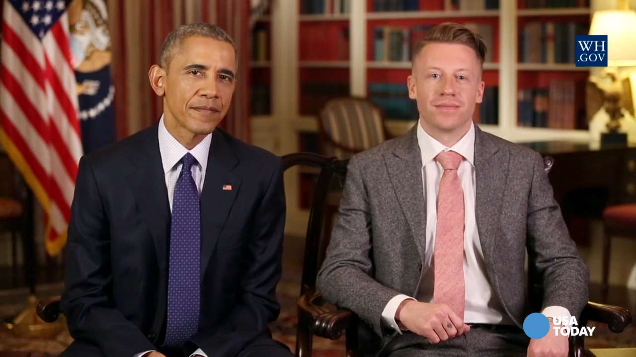 Obama enlists Macklemore to fight opioid abuse