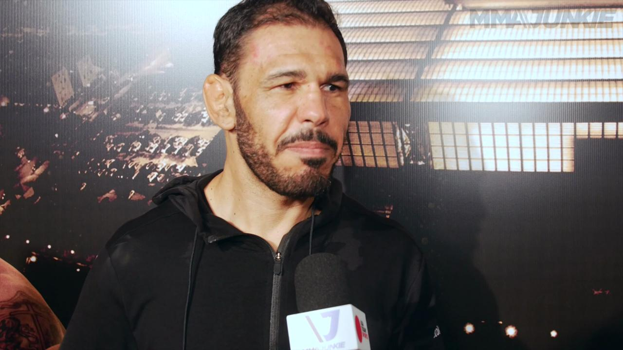 Antonio Rogerio Nogueira pleases the brazilian crowd with a devastating finish