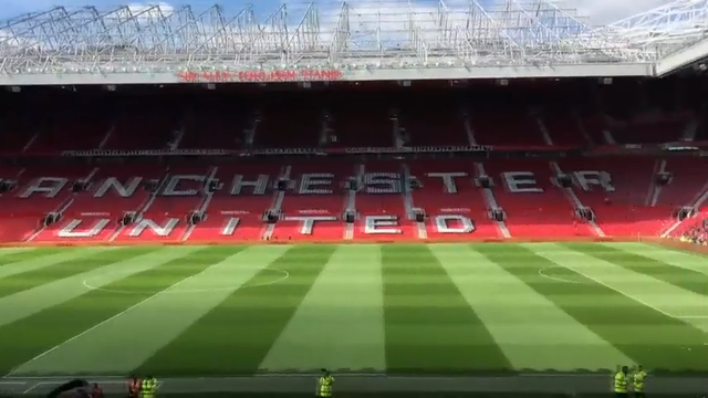 Manchester United Game Evacuated, Package Found