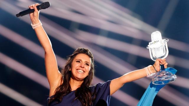 Russia isn't happy Ukraine won the Eurovision song contest