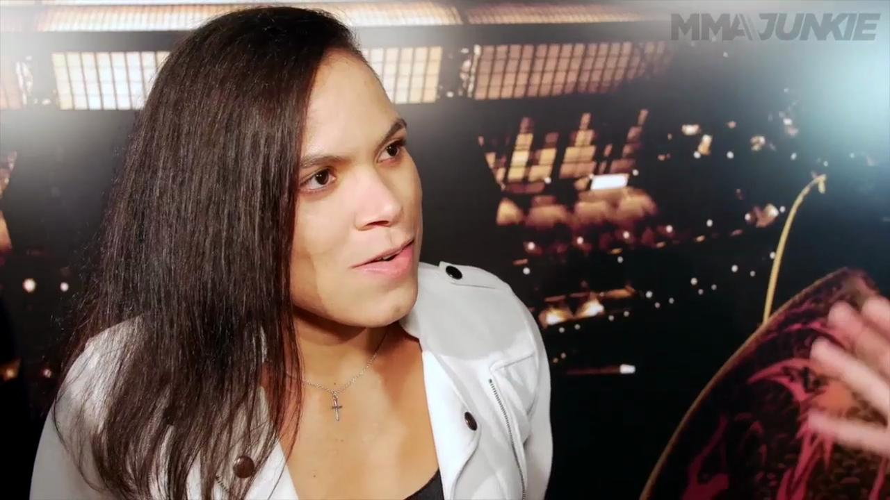 Amanda Nunes interview UFC 198