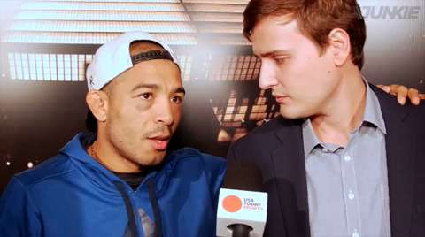 Jose Aldo interview UFC 198