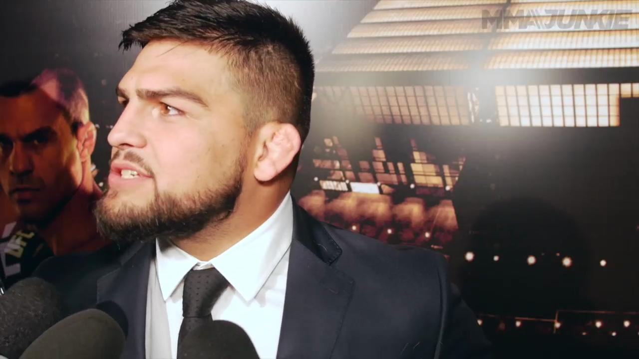Kelvin Gastelum interview UFC 198