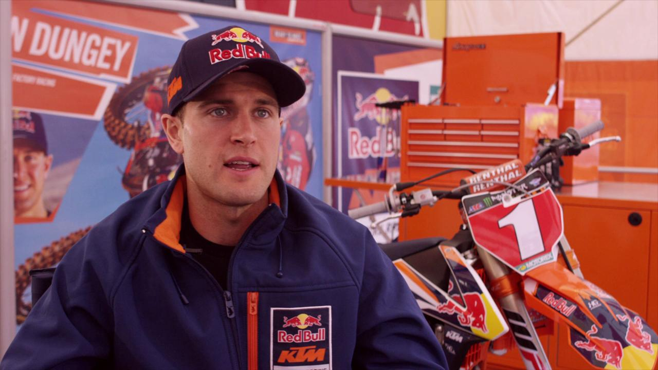 In Shifting Gears with Ryan Dungey, sponsored by USMC, Dungey explains why being a good person off the track is just as big as his performance on it.