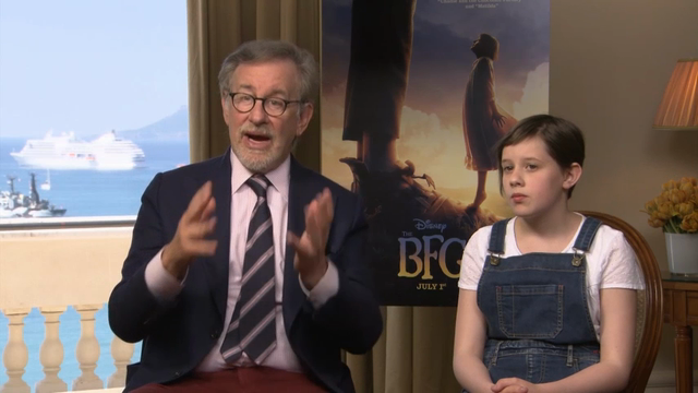 Spielberg Shows Off 'BFG' in Cannes