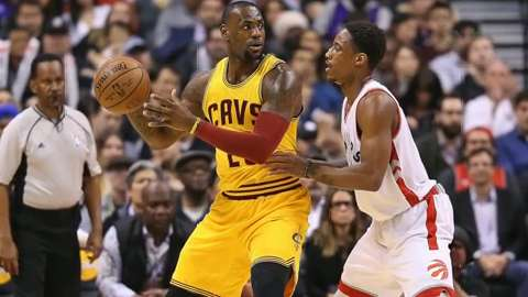 USA TODAY Sports' Jeff Zillgitt and Kevin Spain break down the Eastern Conference Finals match-up between  Cleveland and Toronto.