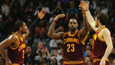 Can healthy Kyrie Irving, Kevin Love launch Cavaliers?