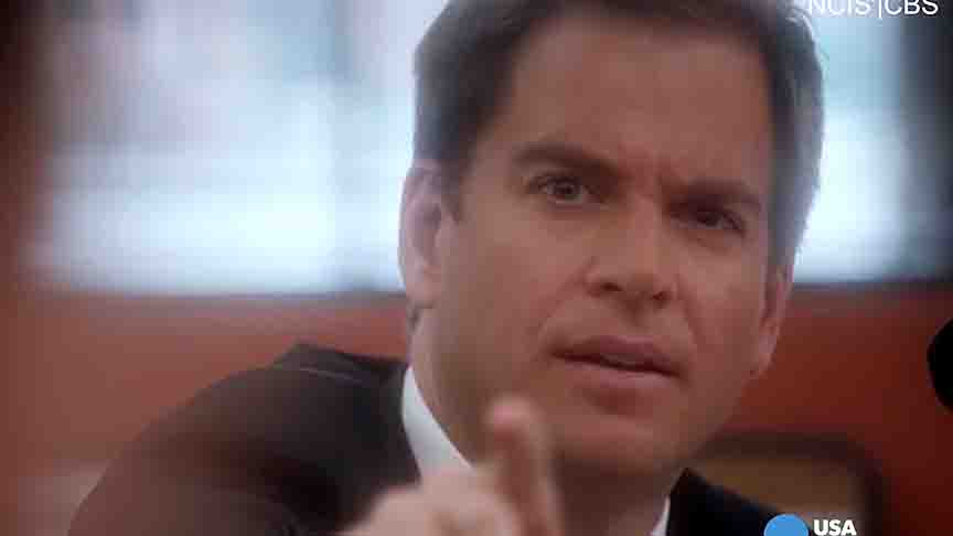 "Michael Weatherly talks about his last day on the set of ""NCIS."""