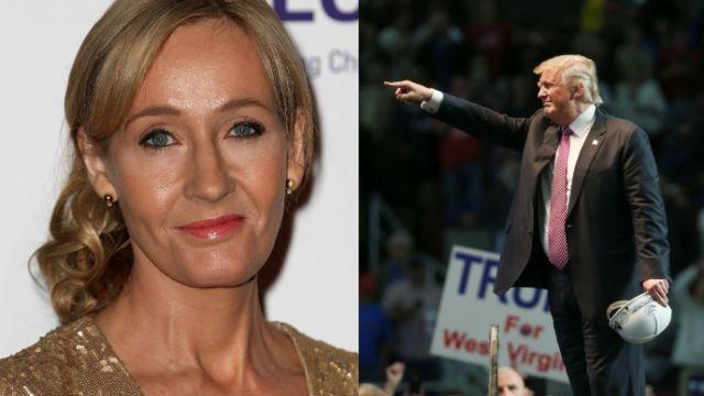 J.K. Rowling: Donald Trump has every right to be a bigot