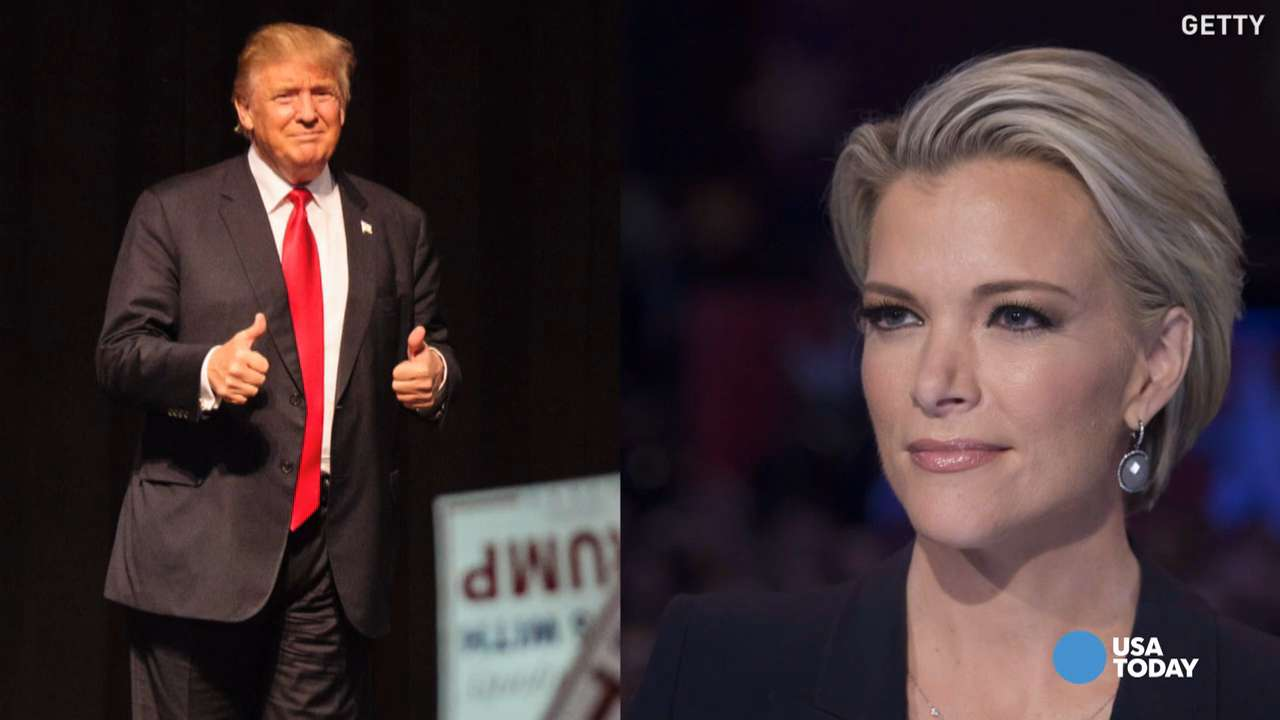 What happens when Megyn Kelly interviews Donald Trump