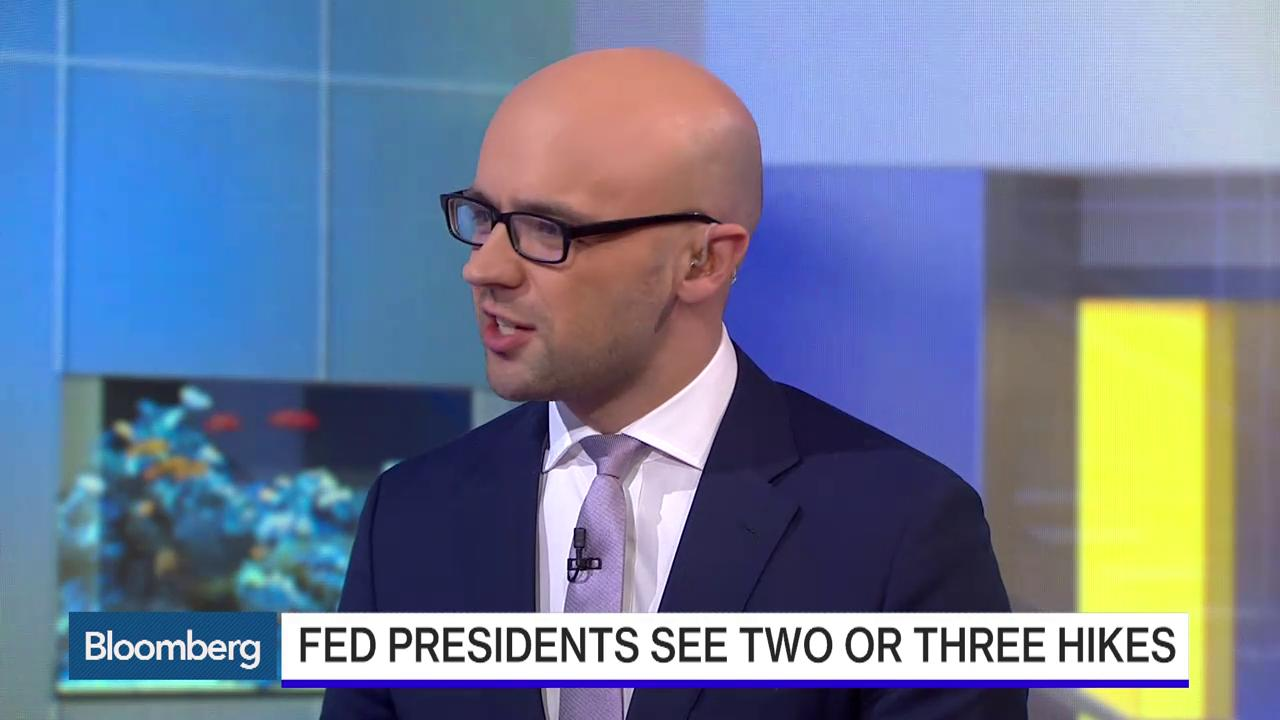 """May 18 -- Bloomberg's Tom Keene and Jonathan Ferro discuss comments on prospective rate increases by Federal Reserve Bank of Atlanta President Dennis Lockhart and Federal Reserve Bank of San Francisco President John Williams. They speak on """"Bloomber"""