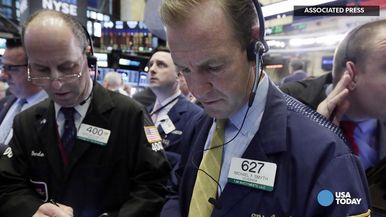 Rate fears are back. And just the thought of higher borrowing costs is again causing angst on Wall Street. Adam Shell for USA TODAY.