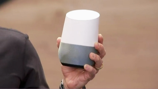 Google debuts voice-activated speaker to challenge Amazon