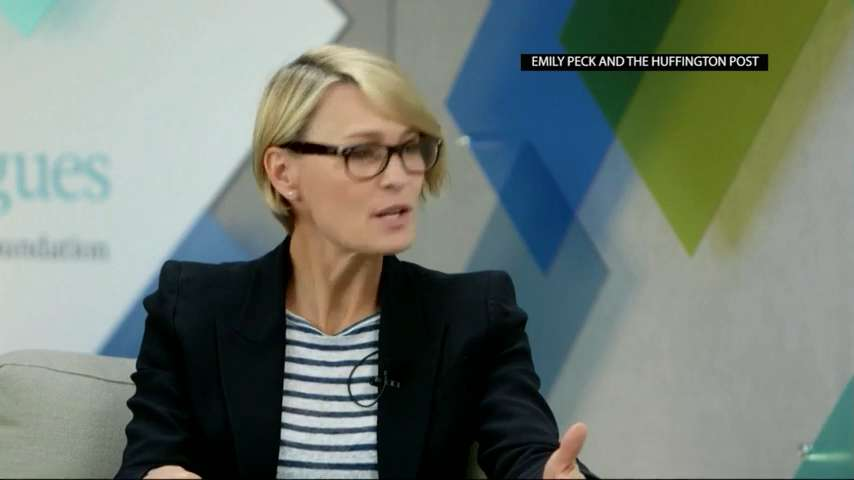 Robin Wright: Gender Pay Gap Is 'a Pandemic'