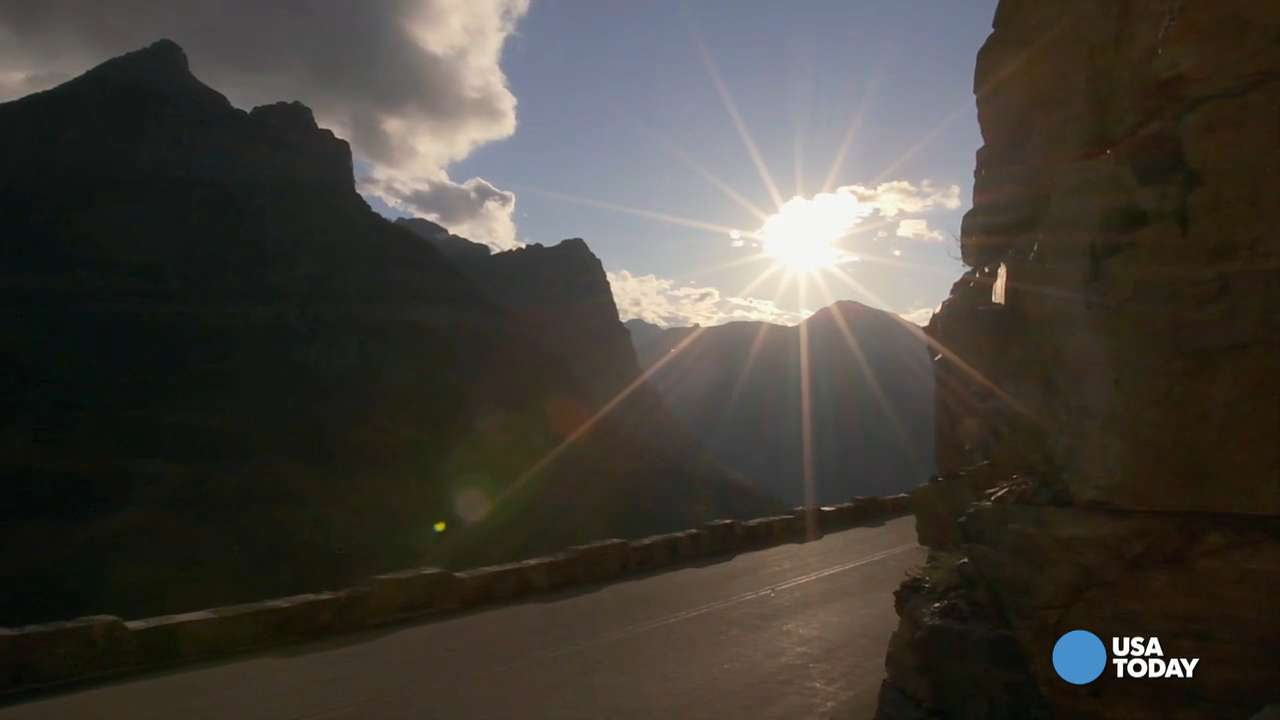Going-to-the-Sun Road takes travelers on a magnificent journey through Glacier National Park. Video by Brian Kaufman, Detroit Free Press.