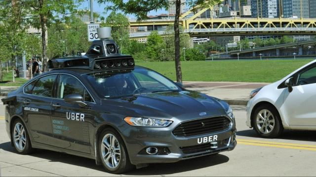 Uber Car Pic >> Uber Tests Self Driving Cars In Pittsburgh