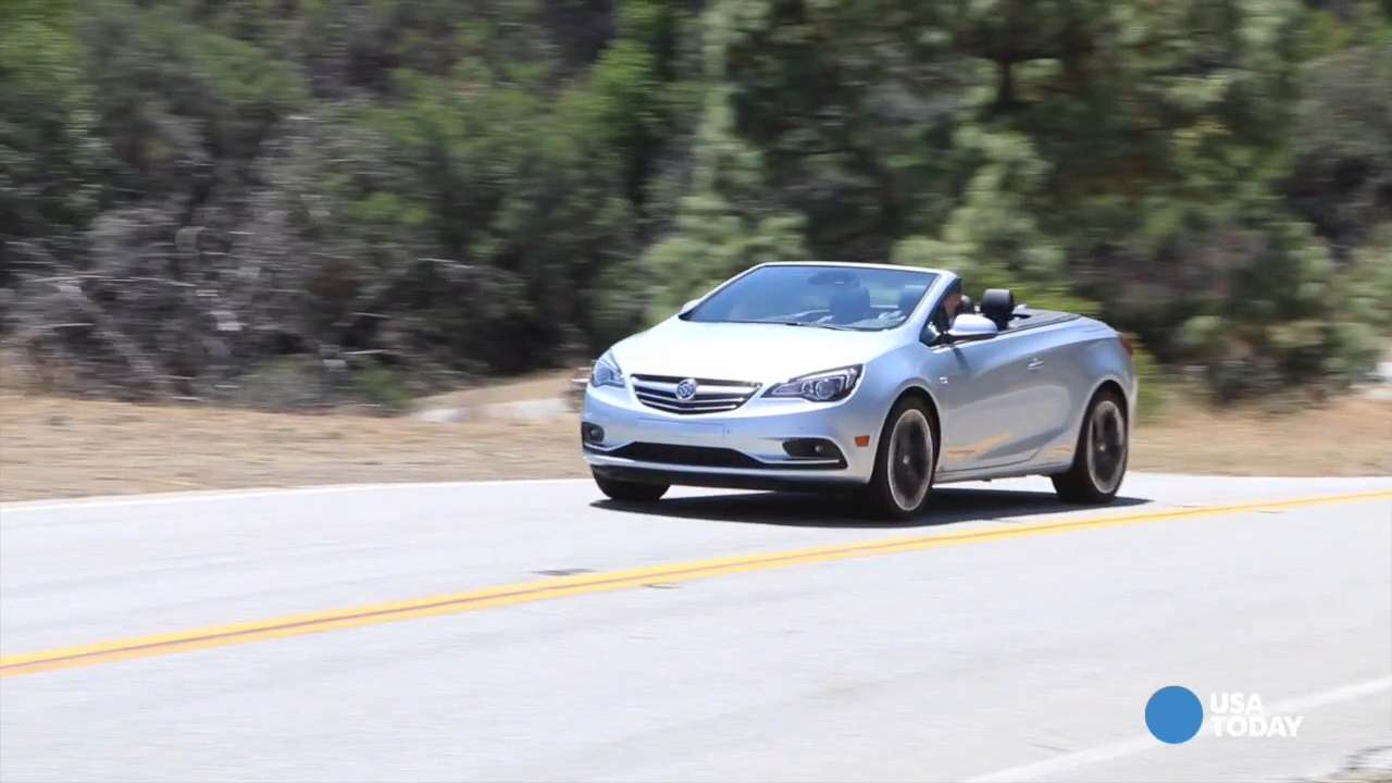 USA TODAY's Chris Woodyard gets behind the wheel of the new 2016 Buick Cascada.