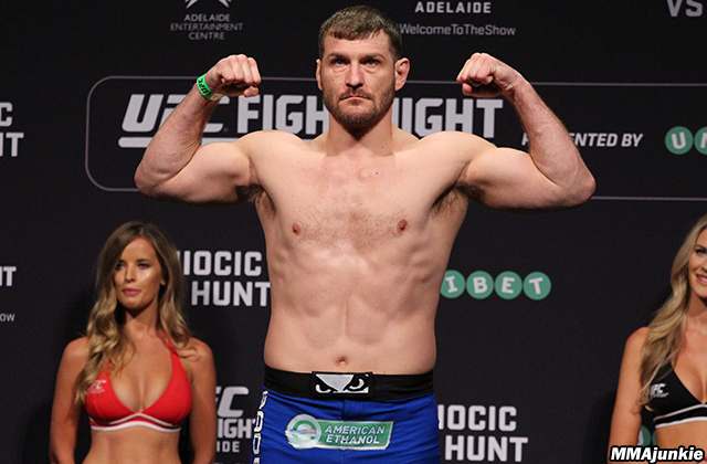 Stipe Miocic on MMAjunkie Radio