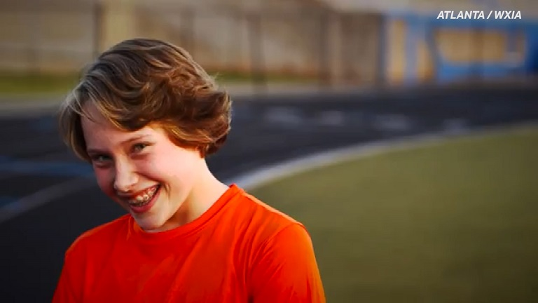 Teen amputee runs again after life-altering surgery