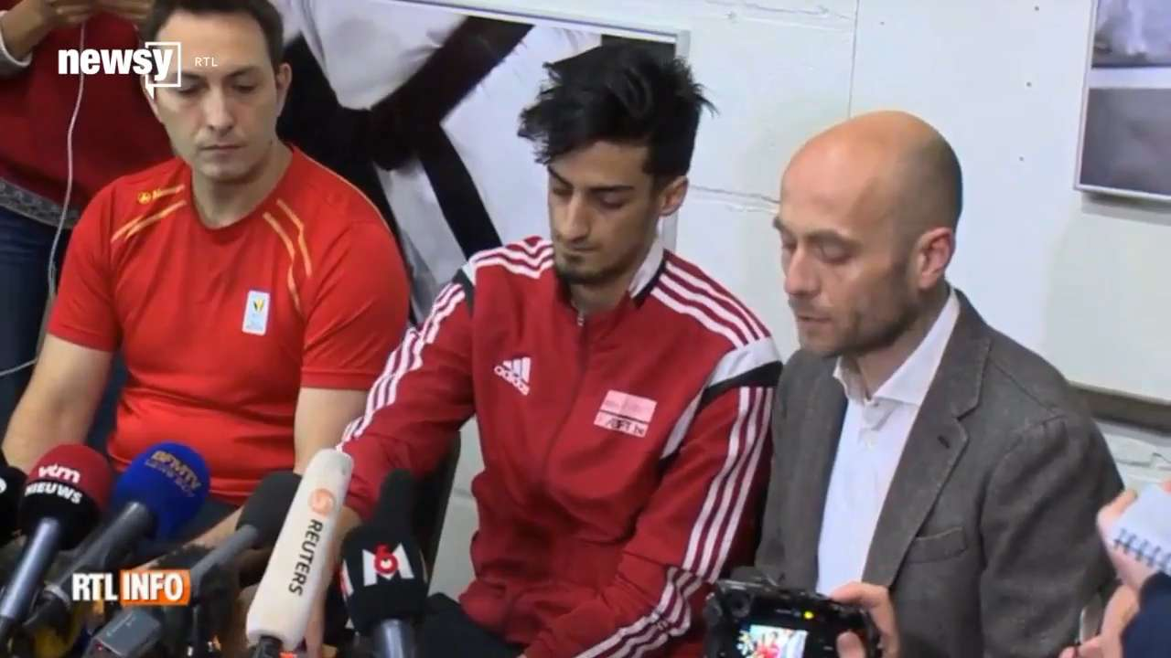 Mourad Laachraoui is a taekwondo champion, and his brother was one of the attackers at the airport in Brussels. Video provided by Newsy