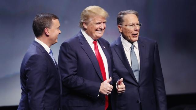 Not everyone's on board with NRA Trump endorsement