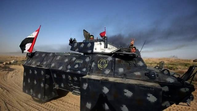 Iraqi forces battled the Islamic State group Monday in the opening stages of an operation to retake Fallujah, one of the toughest targets yet in Baghdad's war against the jihadists.Video provided by AFP