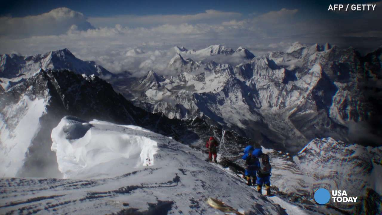 Mount Everest melting is exposing bodies of dead climbers
