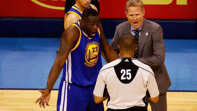 Warriors forward Draymond Green will avoid suspension for his groin kick on Steven Adams during Sunday's loss to the Thunder.