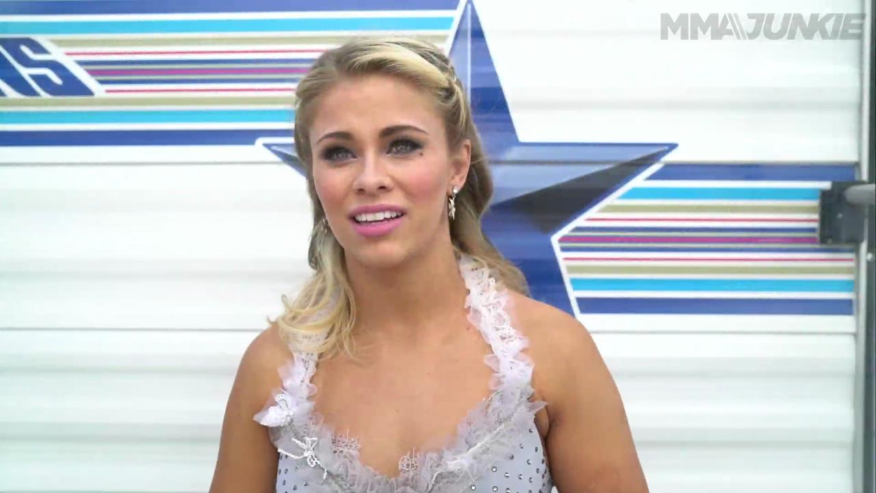 Paige VanZant discusses her trip to the Dancing with the Stars Finale