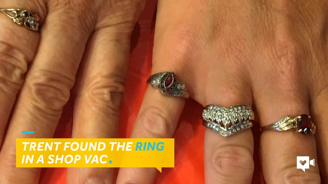 Plumber tracks down owner of long-lost ring