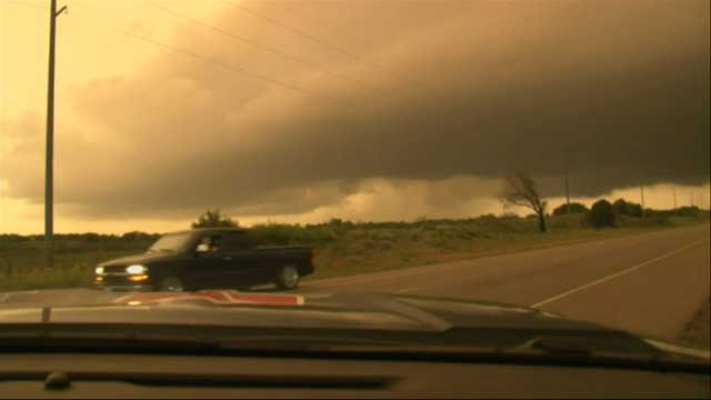 Funnel cloud spotted in Oklahoma