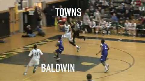 Towns sees a little Westbrook in HS teammate Baldwin