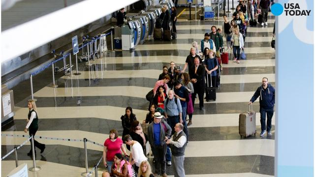 The Transportation Security Administration's head of security was removed from his position Monday as long lines at airports continue to be an issue. Kelly Hoggan's resignation was announced by the U.S. House of Representatives Oversight Committee.